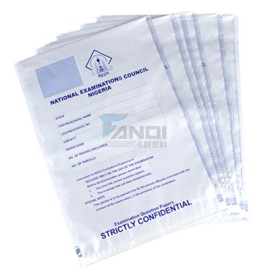Examination Paper Security Seal Bags