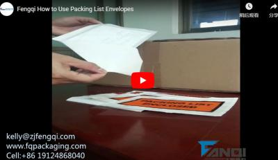 How to Use Packing List Envelopes